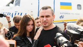 Олег Сенцов виступив із першою заявою після повернення до України