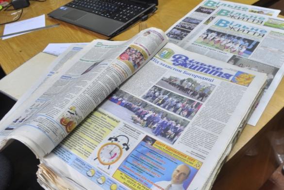 QR-код у газеті й подарунки підписникам. Як реформувалася газета «Вільне життя» в Кіцмані