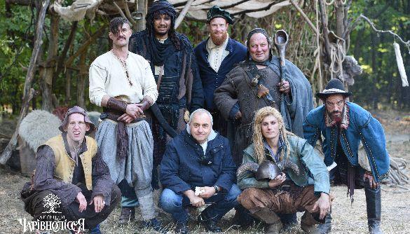 Віктор Андрієнко розпочав зйомки казки «Легенди Чарівнолісся»