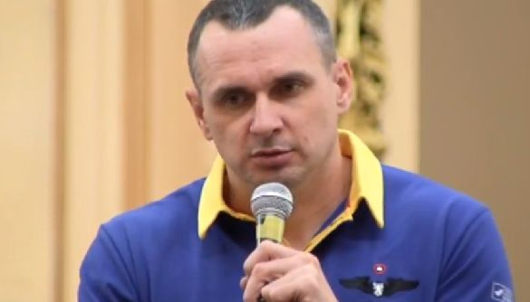 Сенцов на Форумі видавців у Львові долучився до акції на підтримку політв'язнів