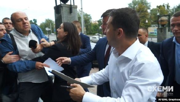 Медіаспільнота закликає президента публічно відреагувати на перешкоджання роботі журналістів з боку працівниці його Офісу