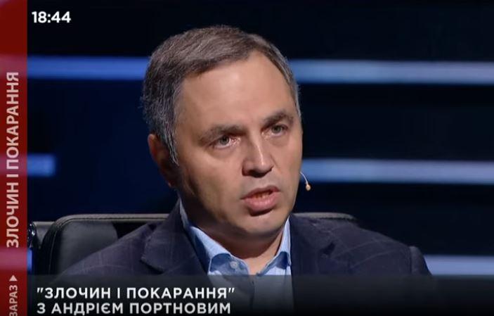 Портнов закликає звільнити з посади Володимира Бородянського через мовний закон