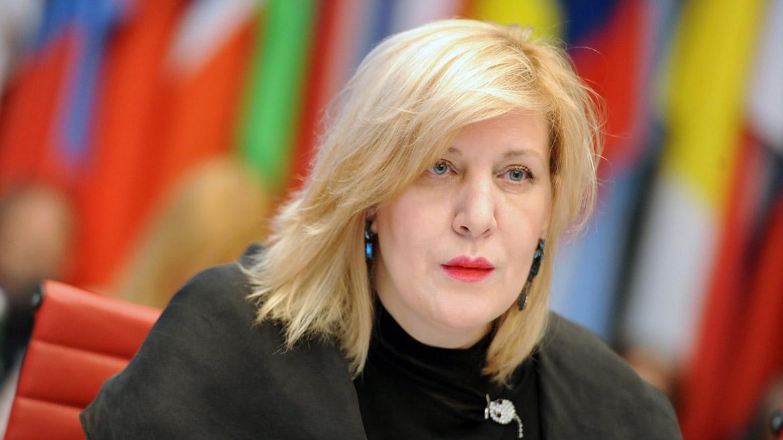 Дуня Міятович планує відвідати анексований Росією Крим