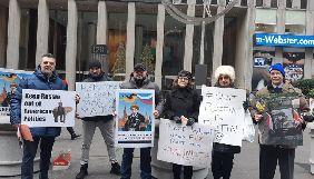 У США українська діаспора пікетувала Fox News за проросійські висловлювання