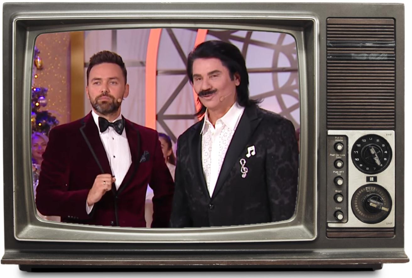 Вітаємо у 1920-х. Новорічні шоу на українських телеканалах