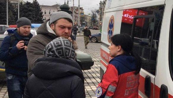 У Харкові під час сутичок біля ОДА постраждала знімальна група СТБ