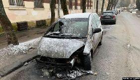 Слідство вважає, що авто журналістки «Радіо Свобода» спалили через професійну діяльність