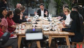Зеленський заявив, що боротиметься з фейками, а не чесною роботою журналістів