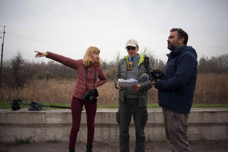 Редакторка hromadske разом із італійськими журналістами знімає фільм про Марківа