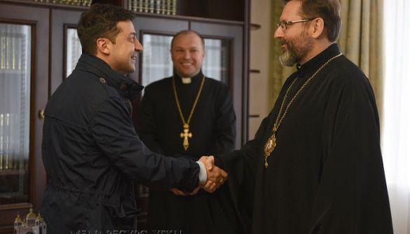 Глава УГКЦ попросив президента підтримати Суспільне мовлення для поширення трансляцій великодніх богослужінь