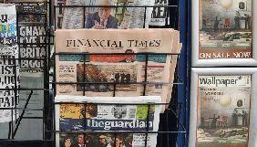 Financial Times, Guardian і Telegraph урізали зарплати своїм топменеджерам під час кризи коронавірусу