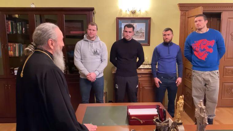 Українські боксери Усик та Ломаченко знялися в російському фільмі про «дружбу народів»