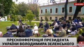 Зеленський – журналістці NewsOne: Щоб допомогти бідним, власникам каналів треба витрачати кошти не на контент проти України