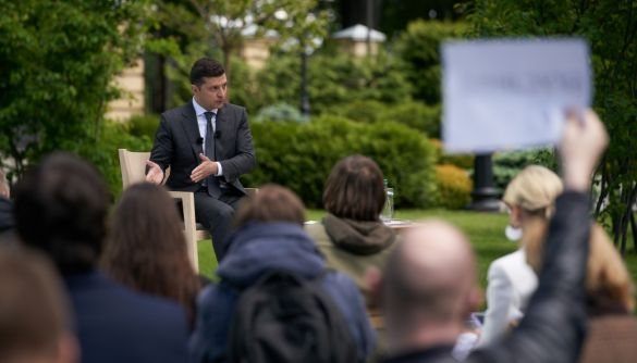 Пресконференція до річниці президентства: що Зеленський сказав про медіа