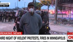 У США під час прямого ефіру затримали знімальну групу CNN