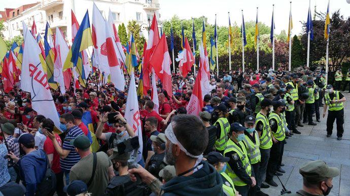 Поліція закликала медіа бути обережними під час акцій у Києві