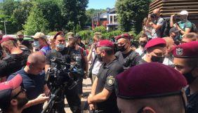 Під судом у справі Стерненка виникла суперечка між активістами і знімальною групою ZIK