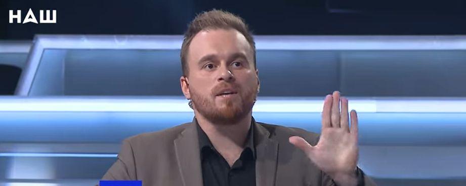 Макс Назаров у прямому ефірі послав ексзаступника голови МінТОТ Гримчака