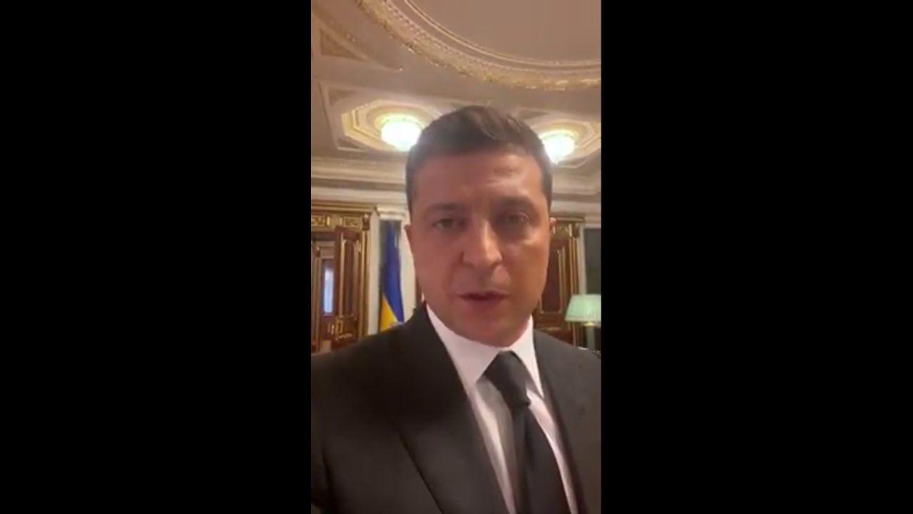 Зеленський видалив відео, яке записав на вимогу луцького терориста
