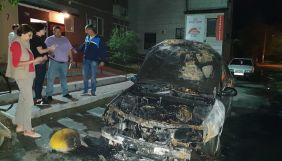 У Броварах спалили авто проєкту «Схеми»
