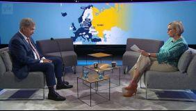 Фінський телеканал показав мапу із «російським» Кримом, але потім виправився