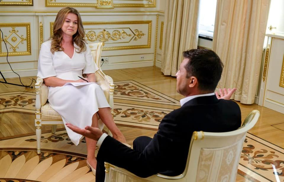 Euronews чотири дні показуватиме інтерв'ю Зеленського
