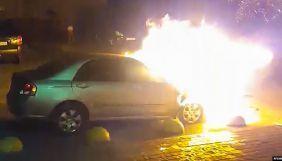 «Європейська солідарність» заявила, що підозрюваний у підпалі авто «Схем» не працював у партійному ЗМІ