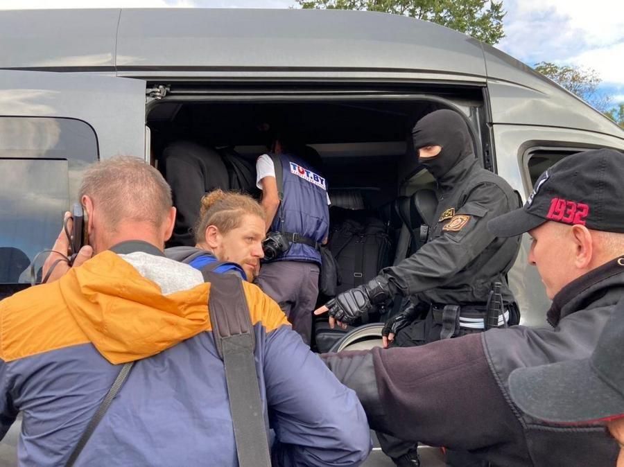 У Мінську затримали понад 40 журналістів, які готувались висвітлювати акцію протесту
