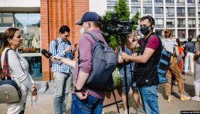 У Білорусі знімальну групу «Радыё Свабода» затримали в прямому ефірі
