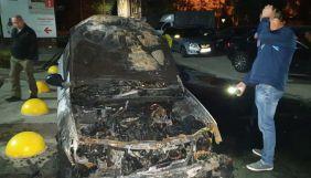 Поліція оприлюднила інформацію про двох підозрюваних у підпалі авто «Схем»