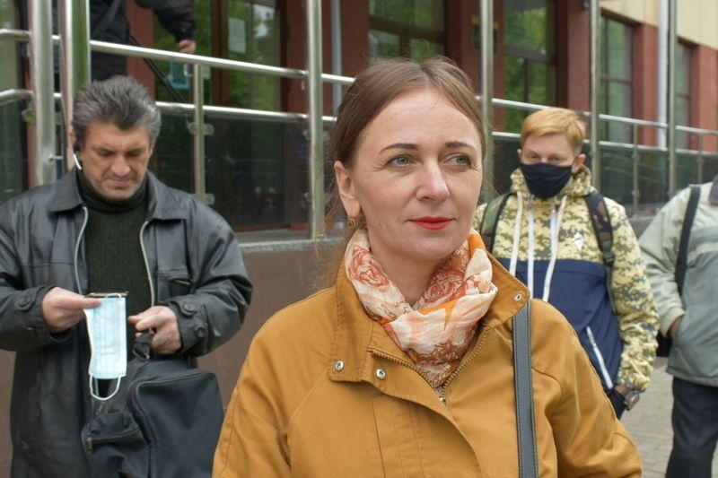 У білоруському Гомелі оштрафували журналістку за участь у несанкціонованому мітингу