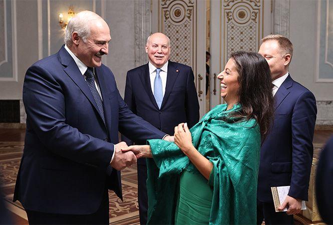 Лукашенко дав інтерв'ю державним російським ЗМІ