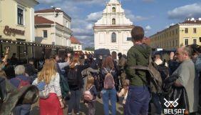 У Мінську затримали журналістів «Белсат», які вели пряму трасляцію Маршу жінок