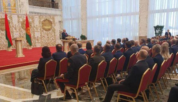 «Таємну інавгурацію» Лукашенка не транслювали білоруські держЗМІ, хоча цього вимагає закон