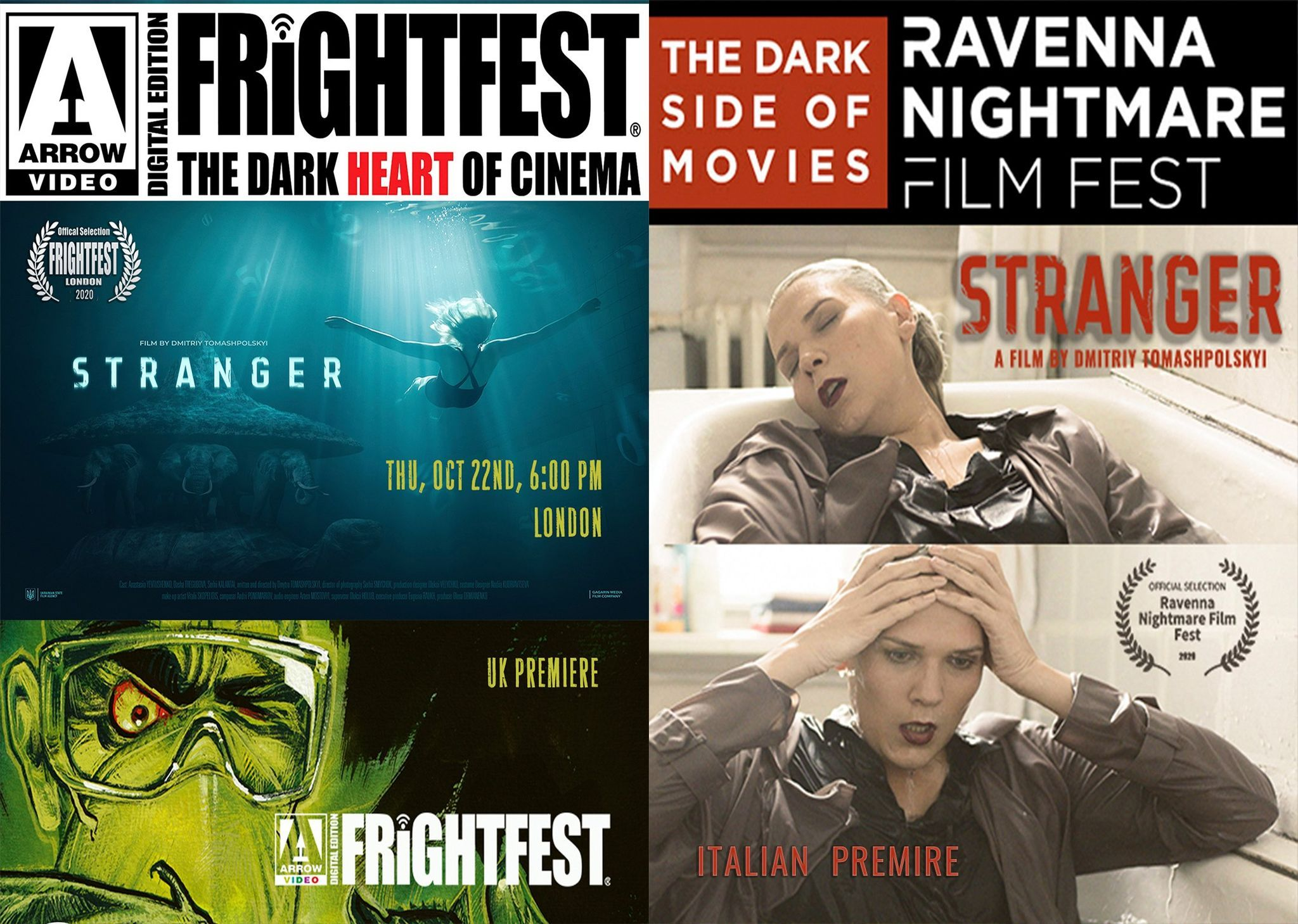 Стрічку «Сторонній» покажуть на кінофестивалях у Великобританії та Італії