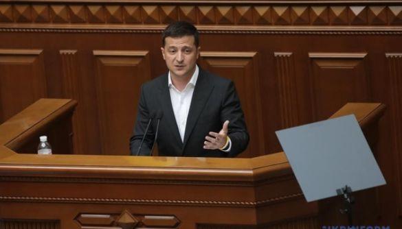 Зеленський хоче змінити формат послання президента до Верховної Ради