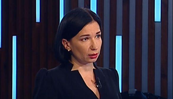 Ольга Айвазовська пішла з ефіру Прямого каналу після суперечки з екснардепом Бригинцем