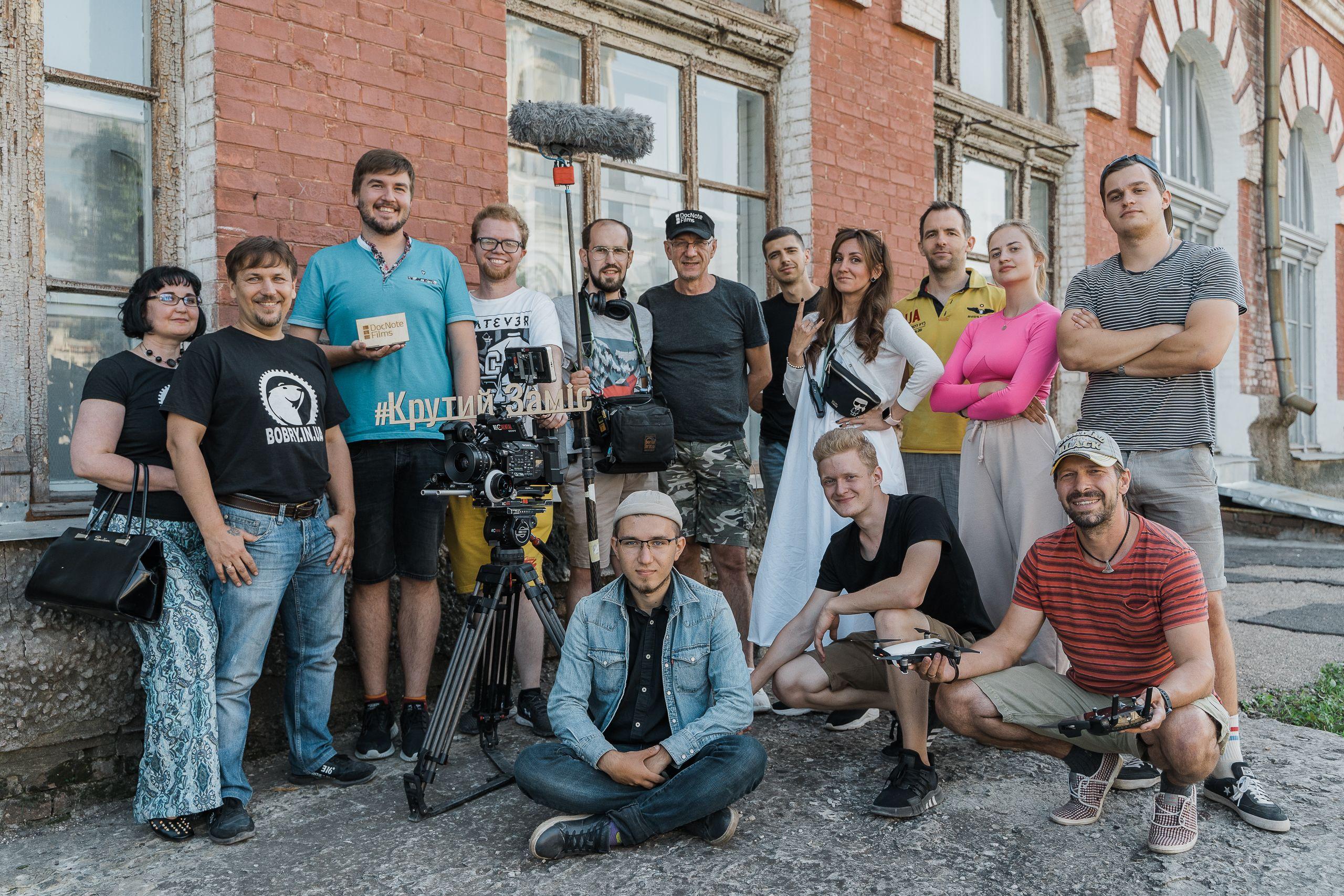 Завершено монтаж другого сезону документального серіалу про українських ветеранів «Крутий Заміс»