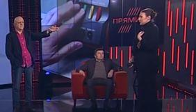 Народна депутатка Федина залишила студію Прямого каналу, не дочекавшись вибачень ведучого Вересня