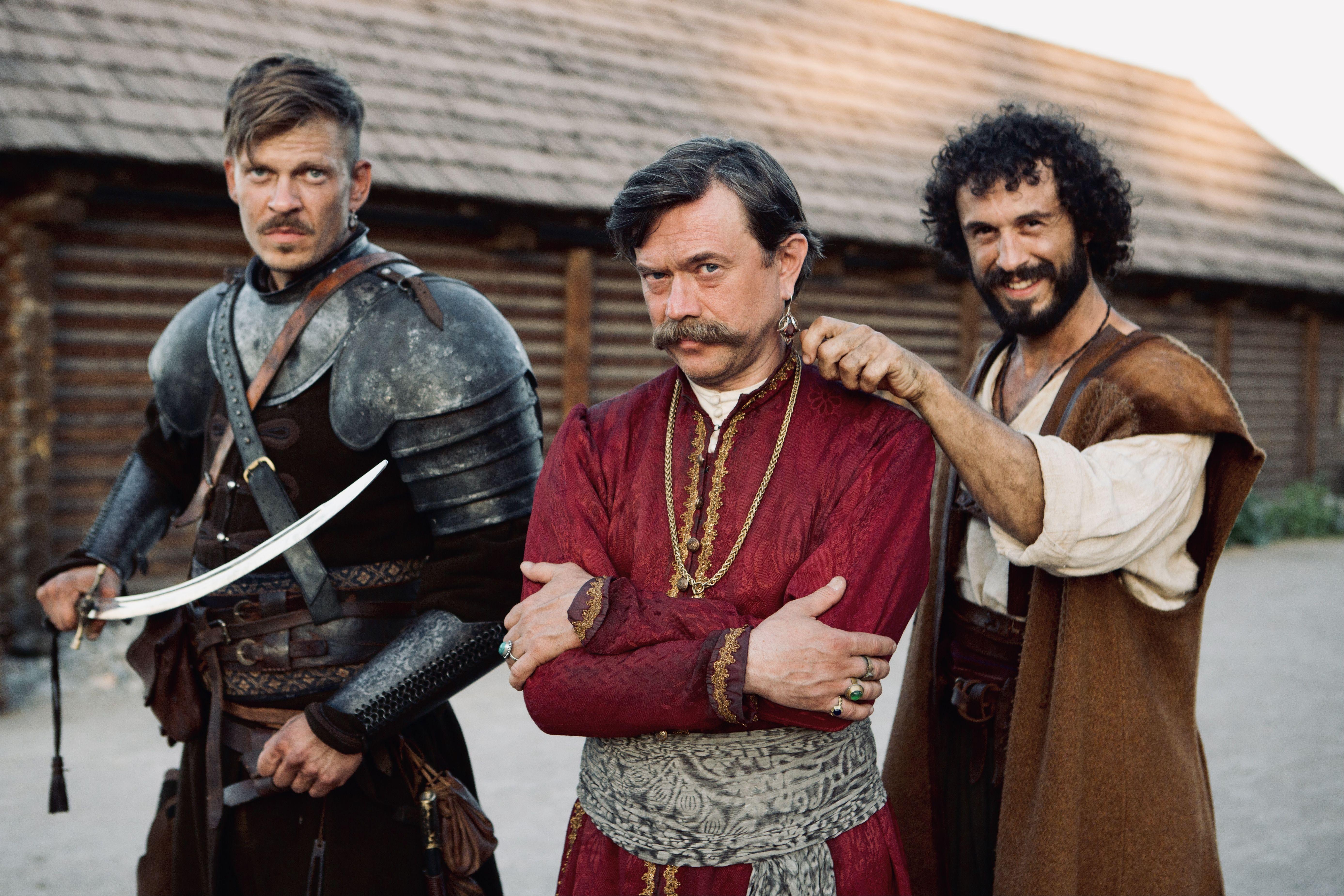 Комедійний серіал від ICTV «Козаки. Абсолютно брехлива історія» покажуть у кінотеатрах