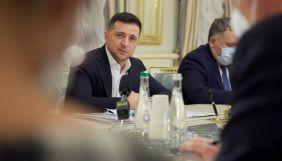 Зеленський обговорив з послами країн G7 та ЄС блокування «каналів Медведчука»