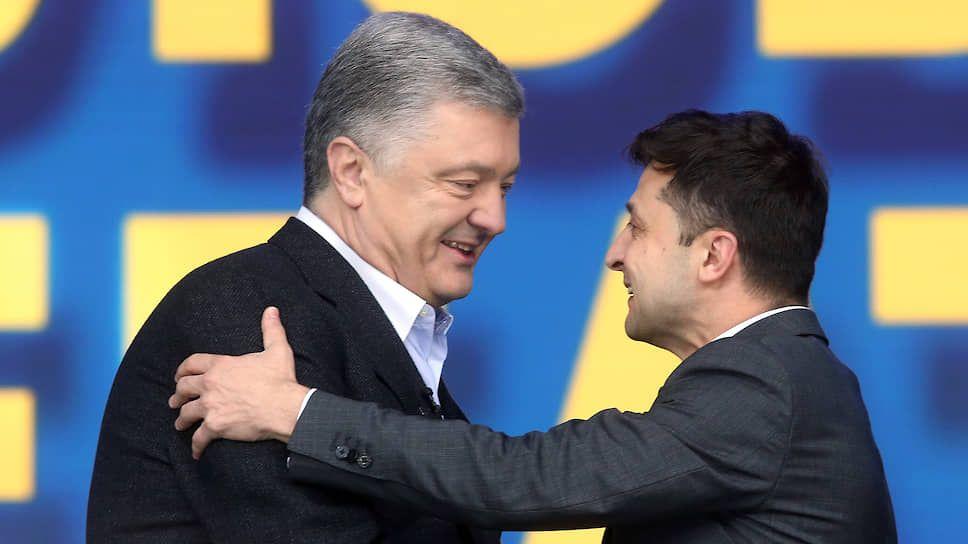"""Зеленський дорікнув, що на каналах Порошенка «агентів Кремля показують частіше, ніж рекламу масла """"Рошен""""»"""