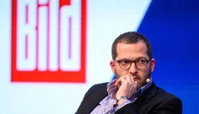 Шефредактора Bild відсторонили від посади. Колеги-жінки звинуватили його у булінгу