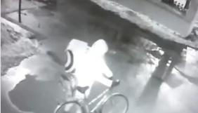 У мережі опублікували відео розпилення газу біля редакції «Новой газеты»