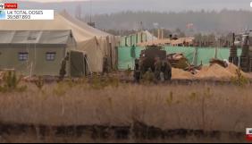 Sky News показав табір російських військ біля українського кордону (ВІДЕО)