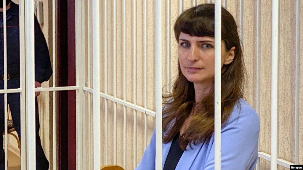У Білорусі суд не став продовжувати тюремний строк журналістці Борисевич. Її звільнять за місяць