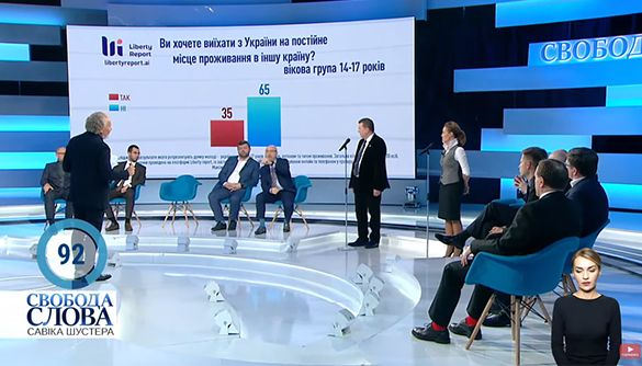 «Идет война двух Украин». Огляд політичних токшоу за 19–23 квітня 2021 року
