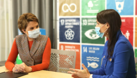 Олена Фроляк стала першою амбасадоркою Глобального договору ООН в Україні