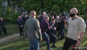 Охорона очільника Харкова Терехова напала на журналіста RegioNews (ВІДЕО)