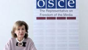Представниця ОБСЄ з питань свободи ЗМІ: Дезінформація підриває довіру суспільства до журналістики